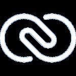Zoho CRM logo wit 256